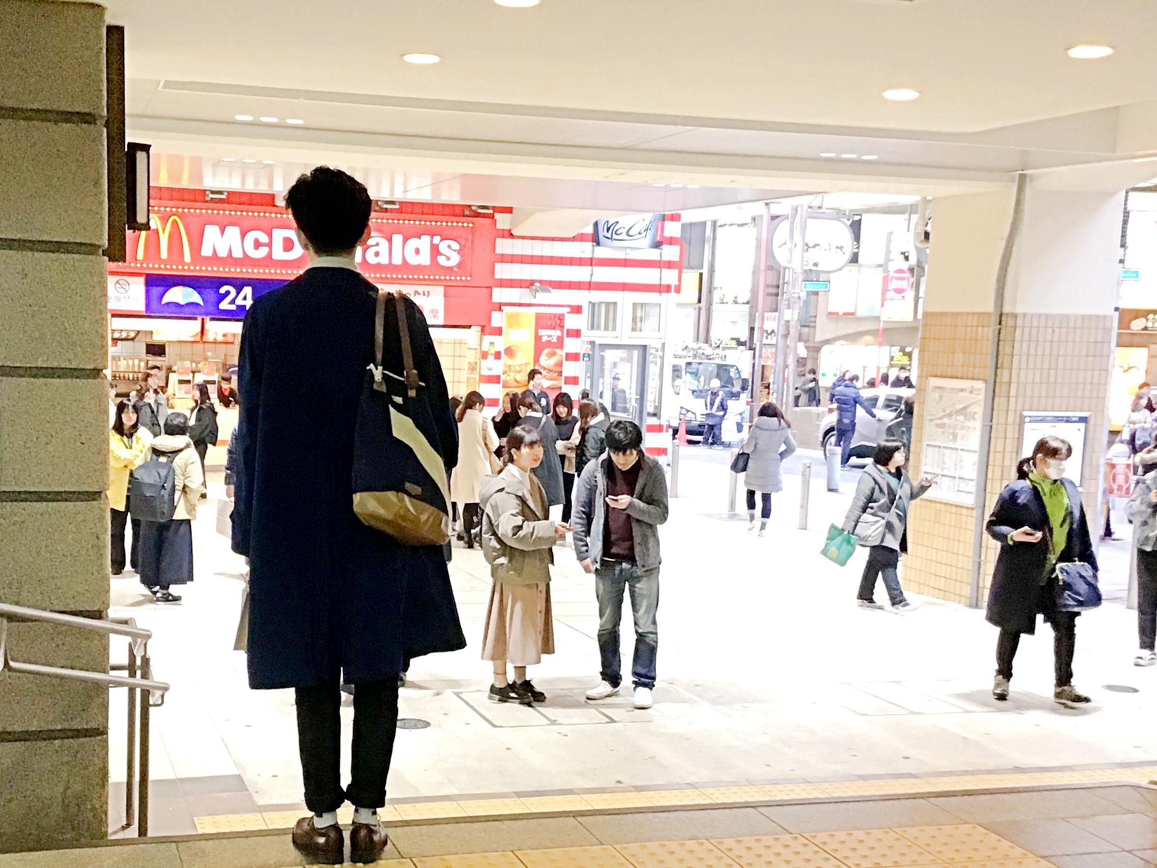阪急神戸三ノ宮駅から②