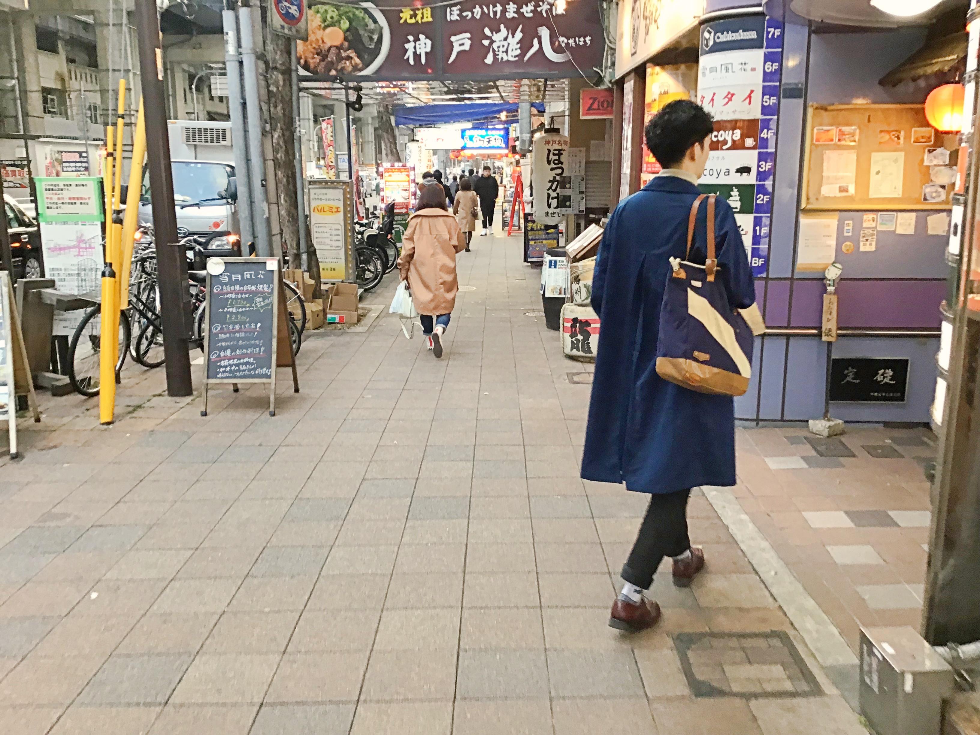 神戸市営地下鉄三宮駅から⑥